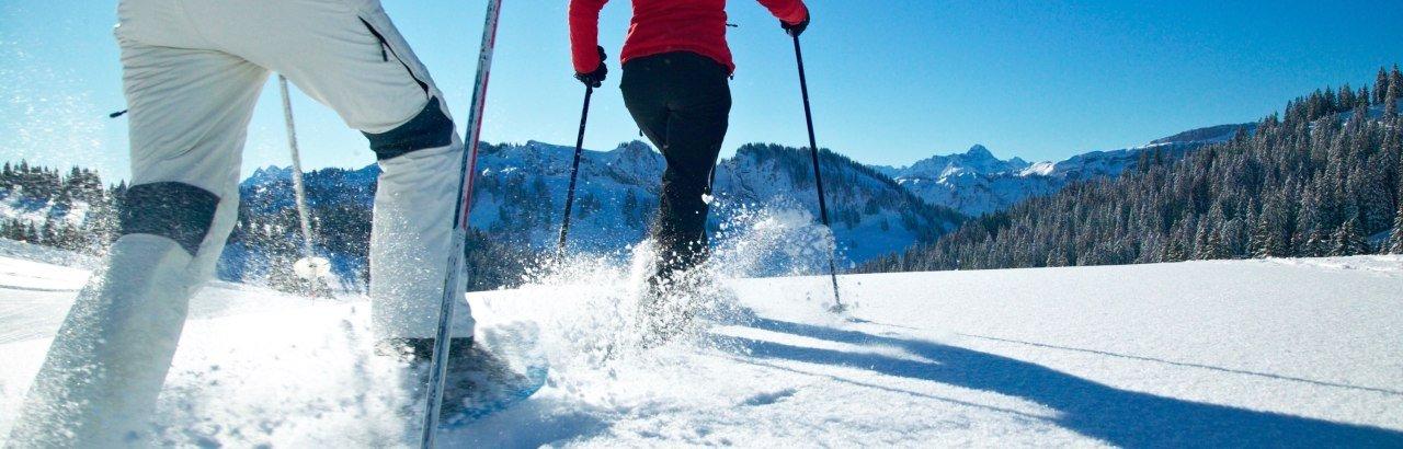 Schneeschuhtour in Obermaiselstein © Tourismus Hoernerdoerfer GmbH
