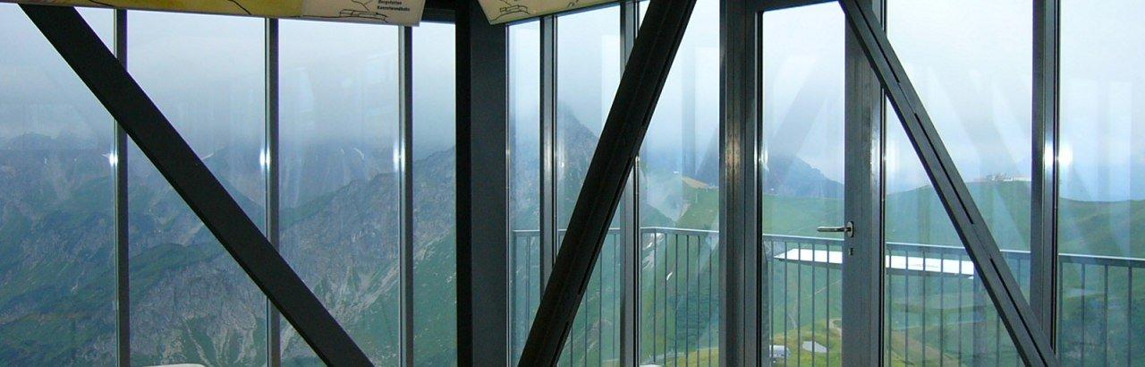 Schauraum der Bergschau in der Gipfelstation der Fellhornbahn © Thomas Dietmann