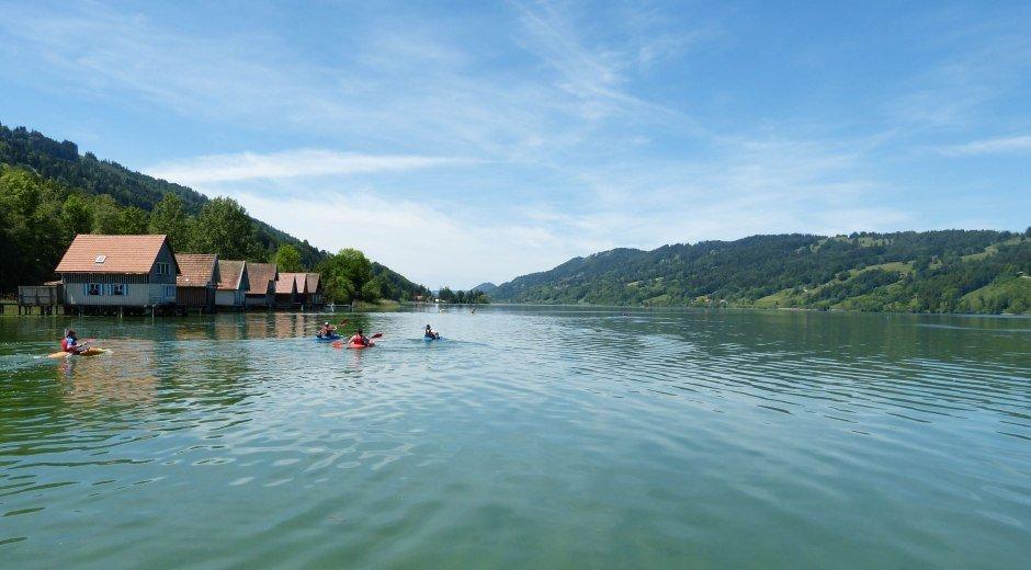 Blick auf den Großen Alpsee in Bühl/Immenstadt © Alpsee Immenstadt Tourismus GmbH