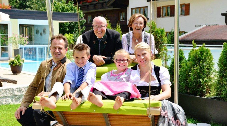 Ihre Gastgeber, Familie Reinheimer © Parkhotel Burgmühle