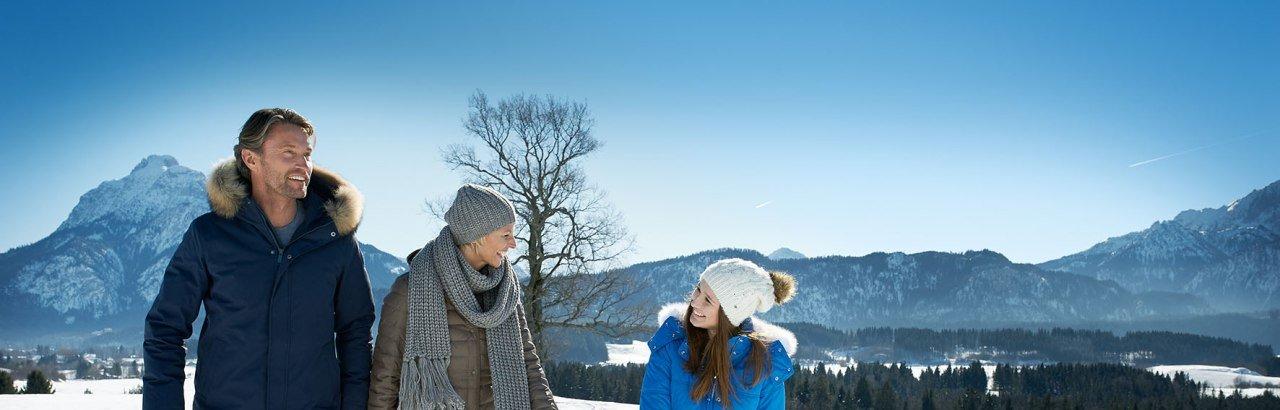 Spaziergang im Schnee © Allgäu GmbH