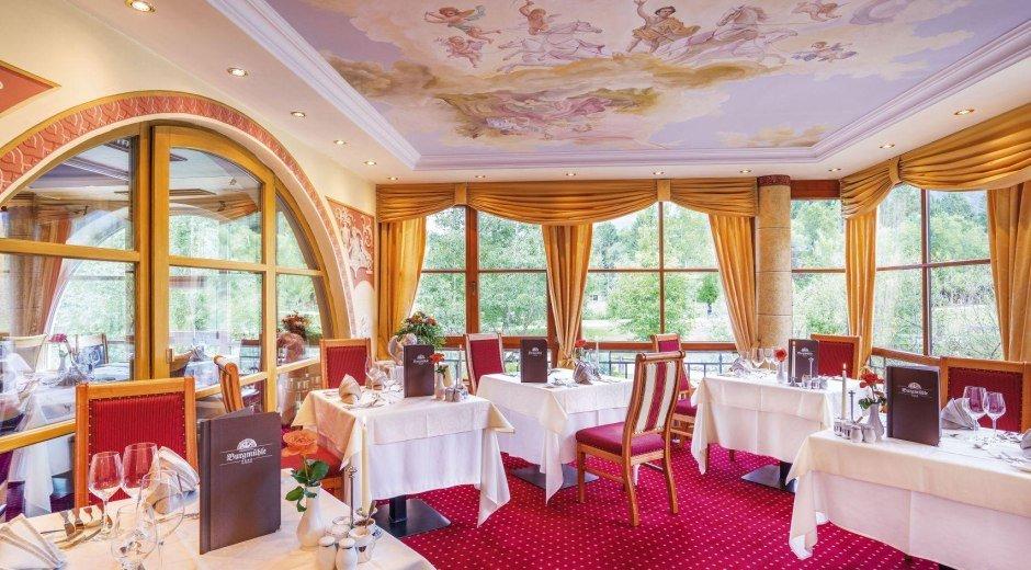 Gourmet-Restaurant Burgmühle in Fischen © Parkhotel Burgmühle