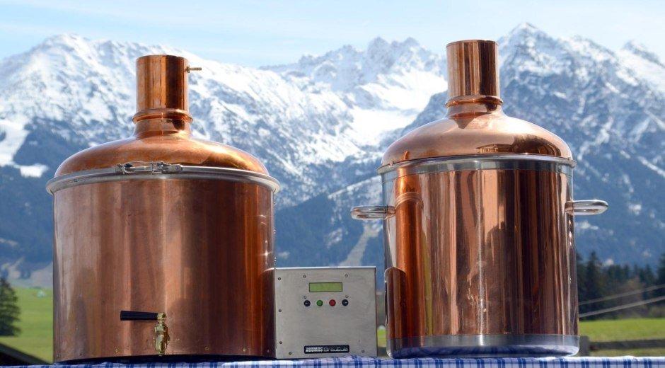 Bier brauen mit Bergblick - Der Bergbauernwirt © Der Bergbauernwirt