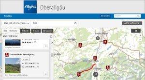 Tourenplaner Rad im Oberallgäu