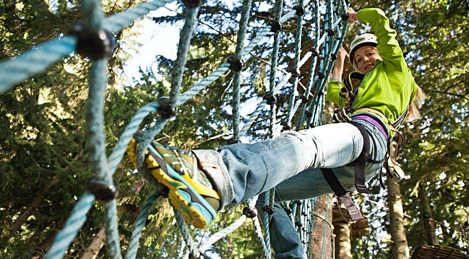Netz Bärenfalle © Alpsee Bergwelt