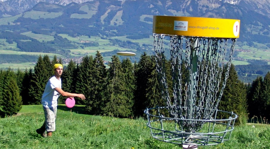 Disc Golf Parcour am Ofterschwanger Horn © Frizbee.at