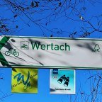 Fernradweg Wertach - Wegweiser