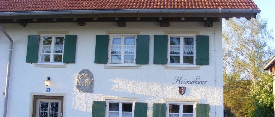 Heimathaus in Börwang Aussenansicht © Gemeinde Haldenwang