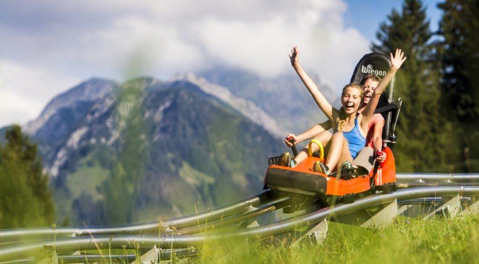 Spaß für Jung und Alt © Oberstdorf / Kleinwalsertal Bergbahnen Fotograf: Bastian Morell