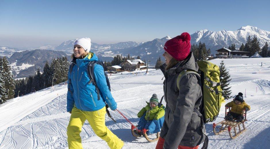 Winterwandern am Söllereck © Oberstdorf / Kleinwalsertal Bergbahnen Fotograf: Jennifer Tautz