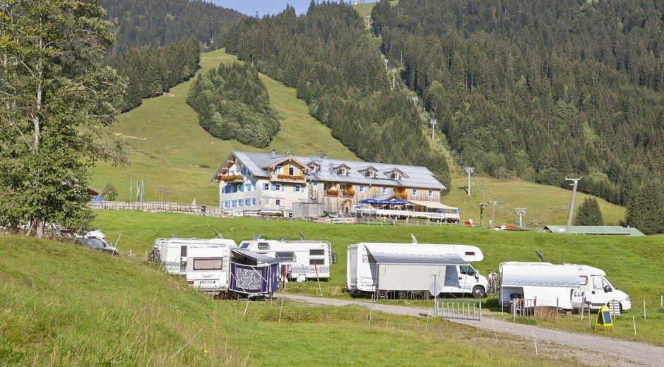 Urlaub mit dem Wohnmobil in Balderschwang im Allgä © Schwabenhof