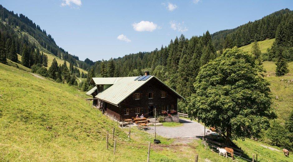 Herzberg Alpe - Obermaiselstein © Tourismus Hörnerdörfer, F. Kjer