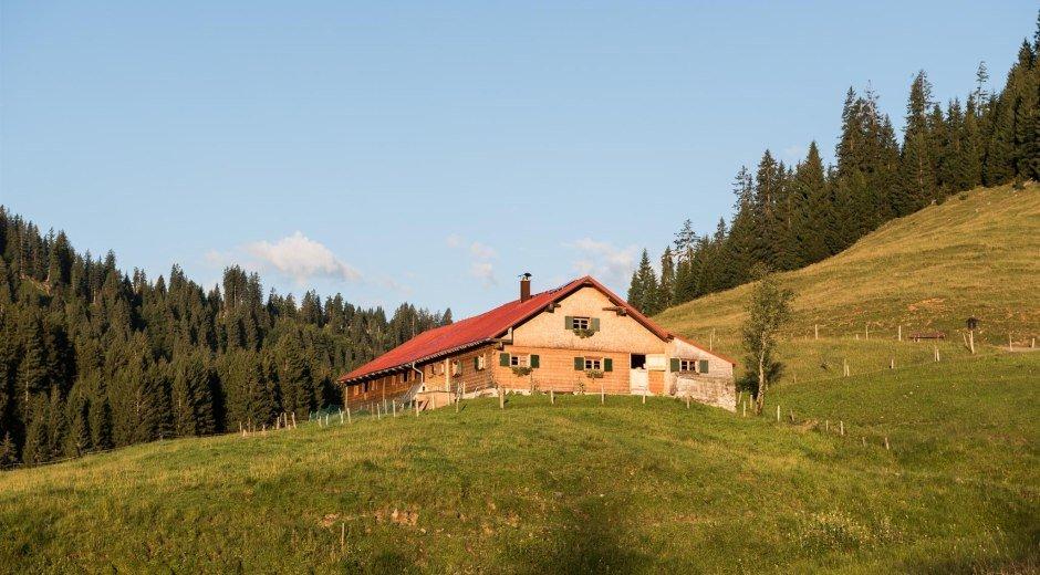 Schwabenalpe im Lochbachtal © Tourismus Hörnerdörfer, F. Kjer