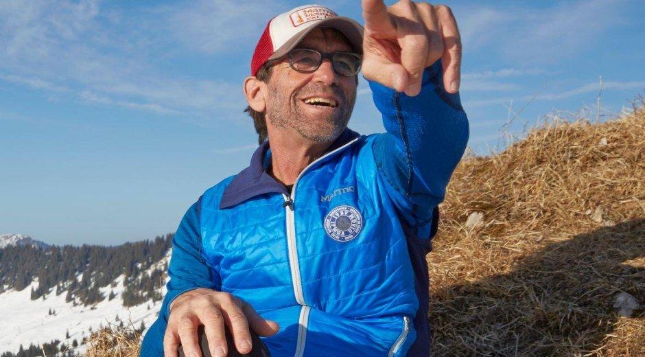 Ski- und Bergführer Michael Schott © Enno Kapitza