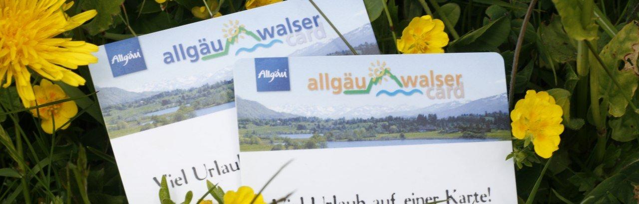 Allgäu-Walser-Card © Oberallgäu Tourismus Service GmbH