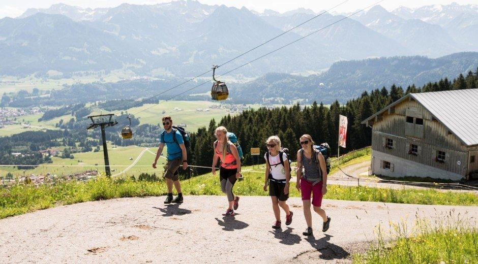 Schöne Wanderungen an der Hörnerbahn © Tourismus Hörnerdörfer, F. Kjer