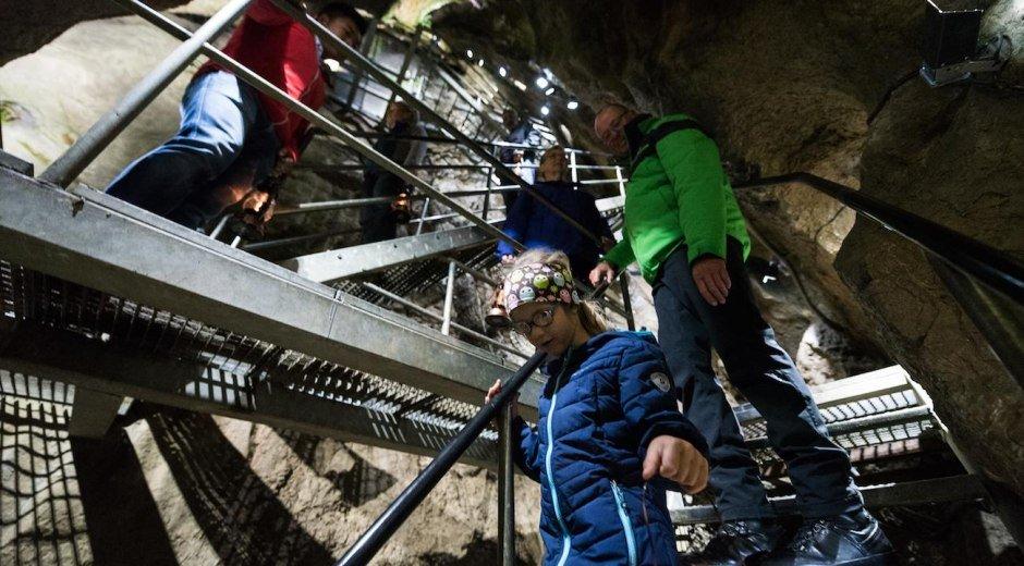 Sturmannshöhle - 120 Millionen Jahre Erdgeschichte © Tourismus Hörnerdörfer, F. Kjer