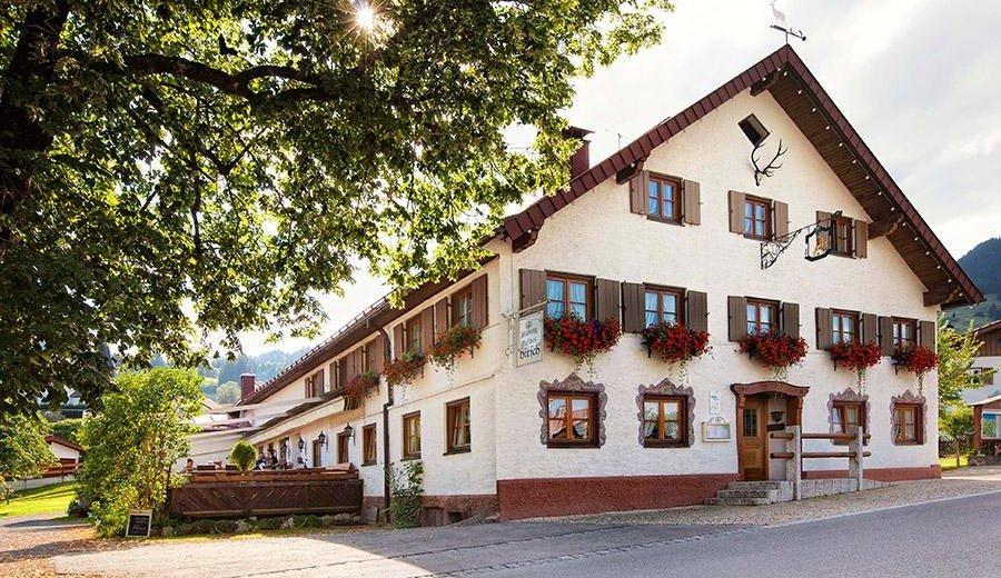Restaurant Gasthof Hirsch - Obermaiselstein © Tourismus Hörnerdörfer