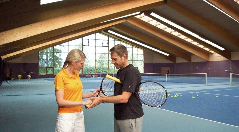 Tennistraining im Sportpark Fischen © Sportpark Fischen