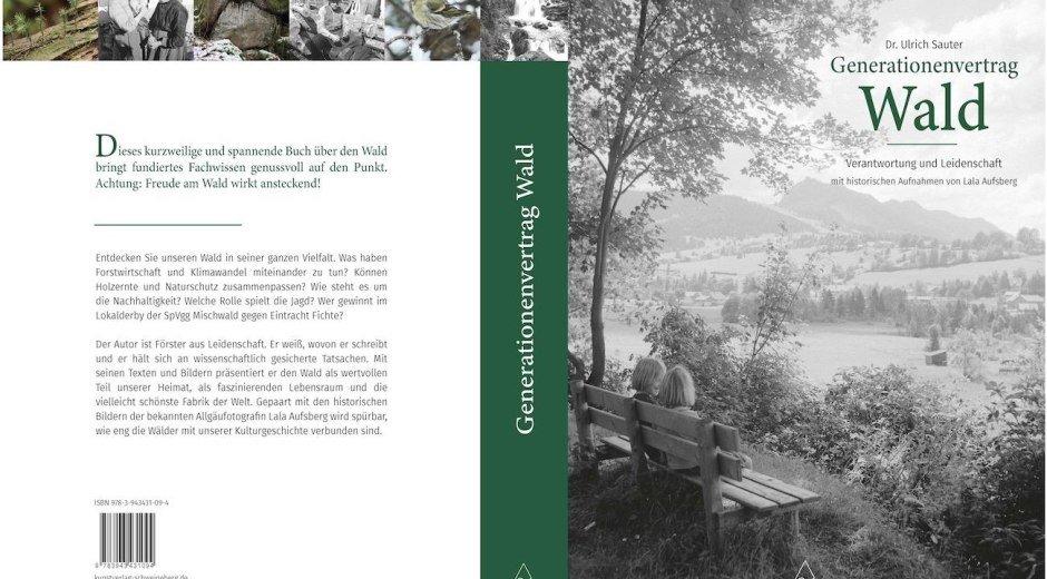 """""""Generationenvertrag Wald"""" - gebundenes Buch © Kunstverlag Schweineberg"""