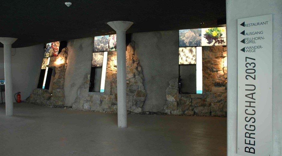 Felsenhalle in der Bergschau am Fellhorn