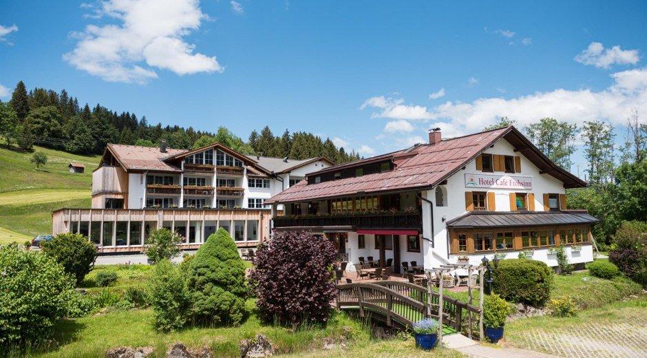 Hotel-Café Frohsinn Frohsinn - Fischen © Wohlfühlhotel Frohsinn