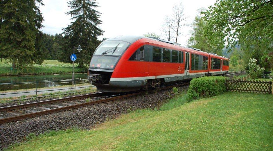 Bahnhof Fischen im Allgäu © Tourismus Hörnerdörfer