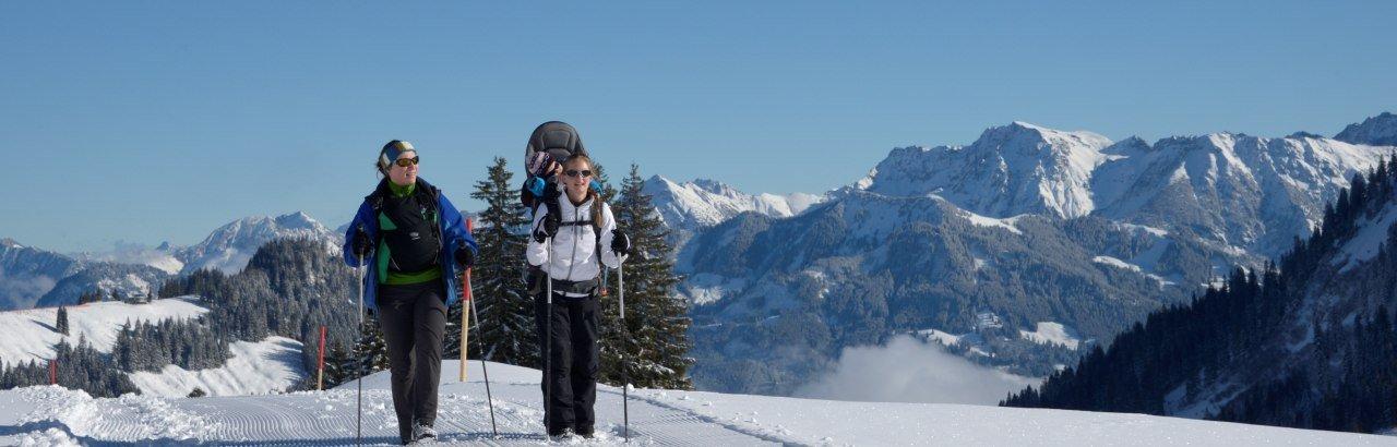 Winterwandern in Bolsterlang © Tourismus Hoernerdoerfer, @Siegfried Bruckmeier