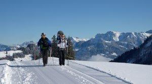 Winterwandern in Bolsterlang, © Tourismus Hoernerdoerfer, @Siegfried Bruckmeier