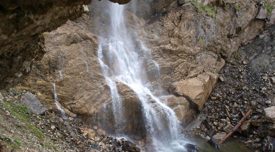 Scheuenwasserfall in Balderschwang © Tourismus Hörnerdörfer, S. Pflederer