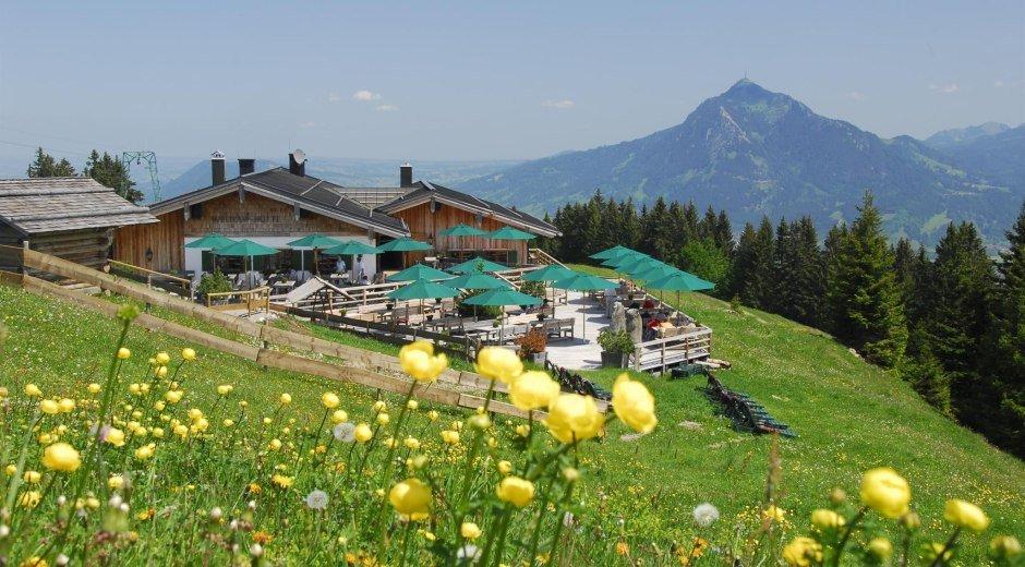 Weltcup-Hütte in Ofterschwang © Tourismus Hörnerdörfer, S. Bruckmeier