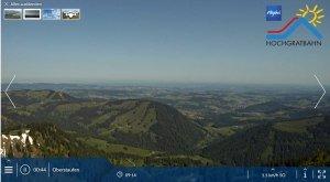 Panoramakamera Hochgrat Frühsommer