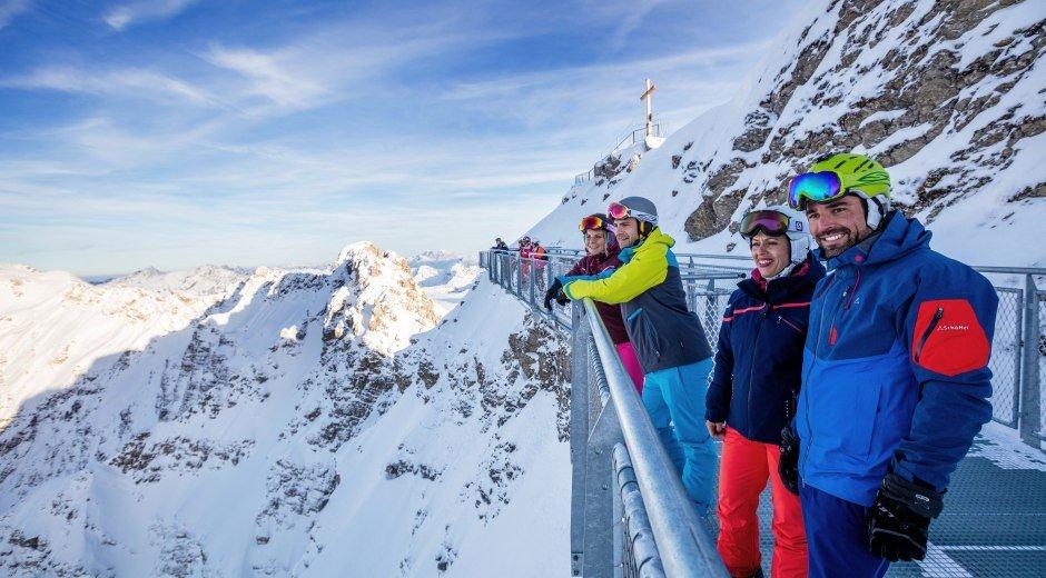 Der Nordwandsteig am Nebelhorn © Oberstdorf / Kleinwalsertal Bergbahnen Fotograf: Ralf Lienert
