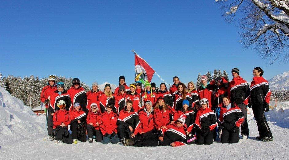 Das Team der Wintersportschule Ofterschwang © Skischule Ofterschwang