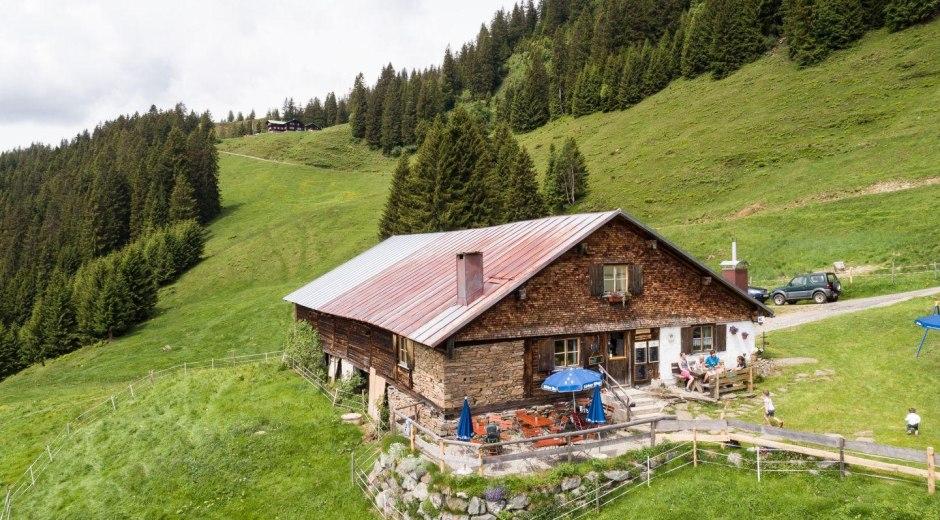 Alpe Hinteregg bei Bolsterlang © Tourismus Hörnerdörfer, F. Kjer