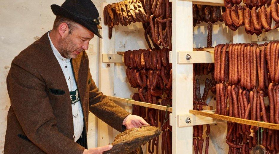 Bauernhaus Busche Berta Ofterschwang - Schinkenrei © Bauernhaus Busche Berta, D. Roth