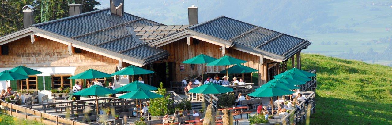 Weltcup Hütte Ofterschwang © Tourismus Hoernerdoerfer GmbH, Siegfried Bruckmeier