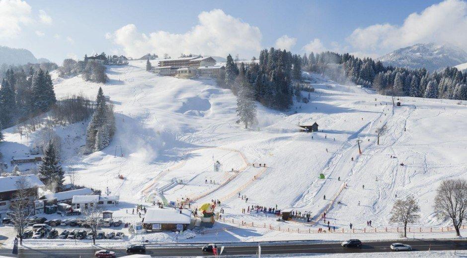 Skigebiet Fischen am Stinesser © Tourismus Hörnerdörfer, ProVisionMedia