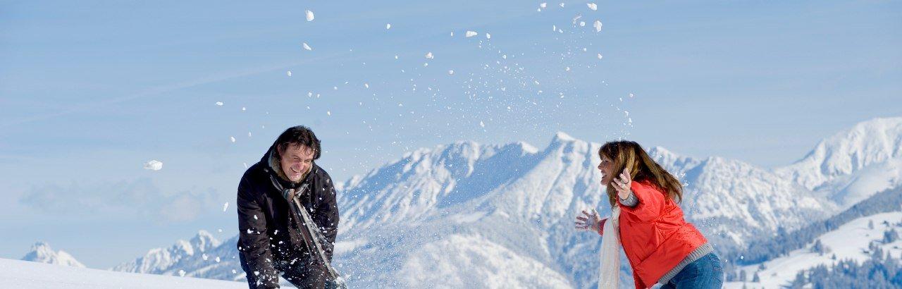 Fischen - Spaß im Schnee © Tourismus Hörnerdörfer GmbH