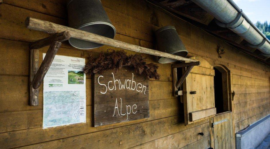 Herzlich willkommen auf der Schwabenalpe © Tourismus Hörnerdörfer, F. Kjer