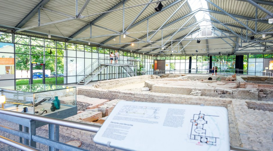 Archäologische Ausgrabungen © Dominik Berchtold