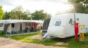 Campers at the campsite, © Anna Kwiatkowska - Fotolia.com