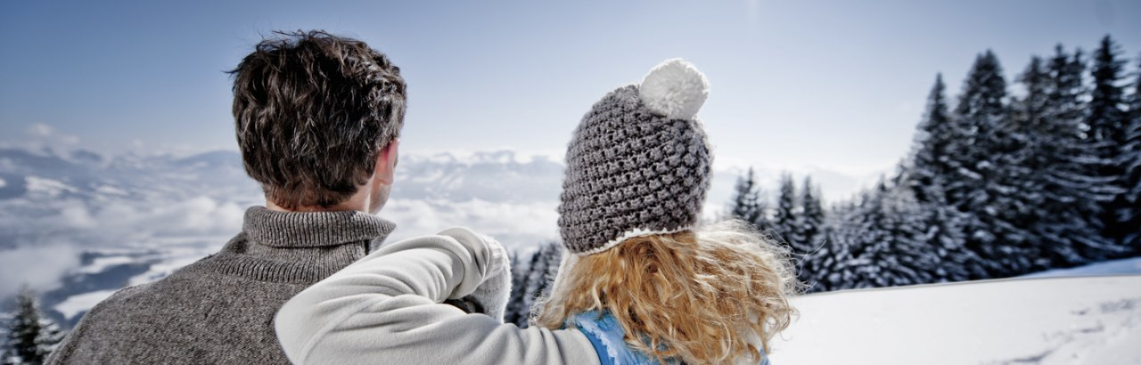 Pärchen im Winter im Allgäu © Allgäu GmbH