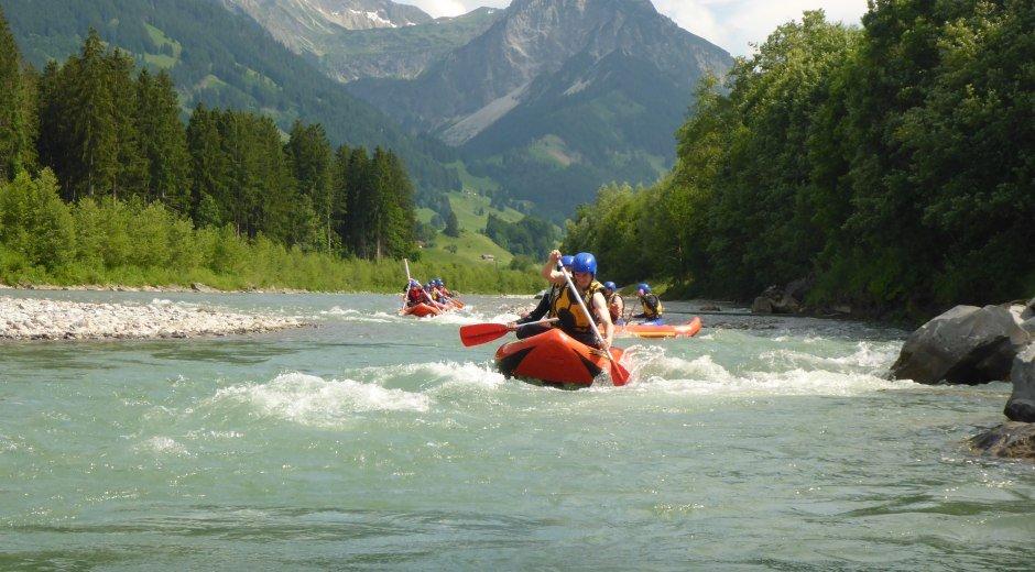 Rafting Boote Iller © MAP-Erlebnis