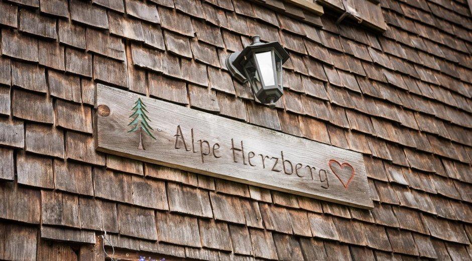 Herzlich Willkommen auf der Herzberg Alpe © Tourismus Hörnerdörfer, F. Kjer