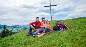 Pause am Hündle-Gipfel, © Oberstaufen Tourismus Marketing GmbH