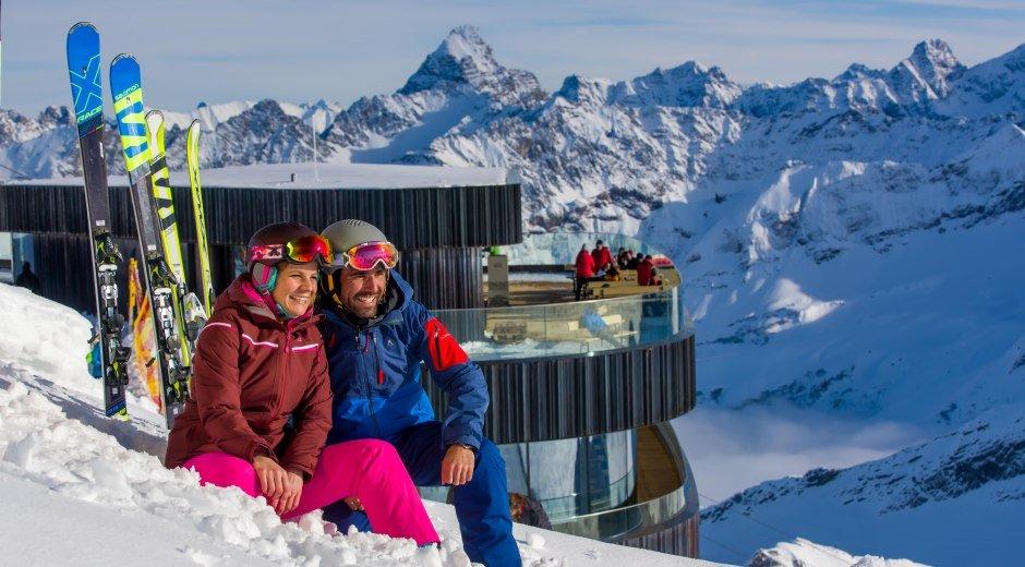 Gemeinsam den Winter genießen © Oberstdorf / Kleinwalsertal Bergbahnen Fotograf: Ralf Lienert