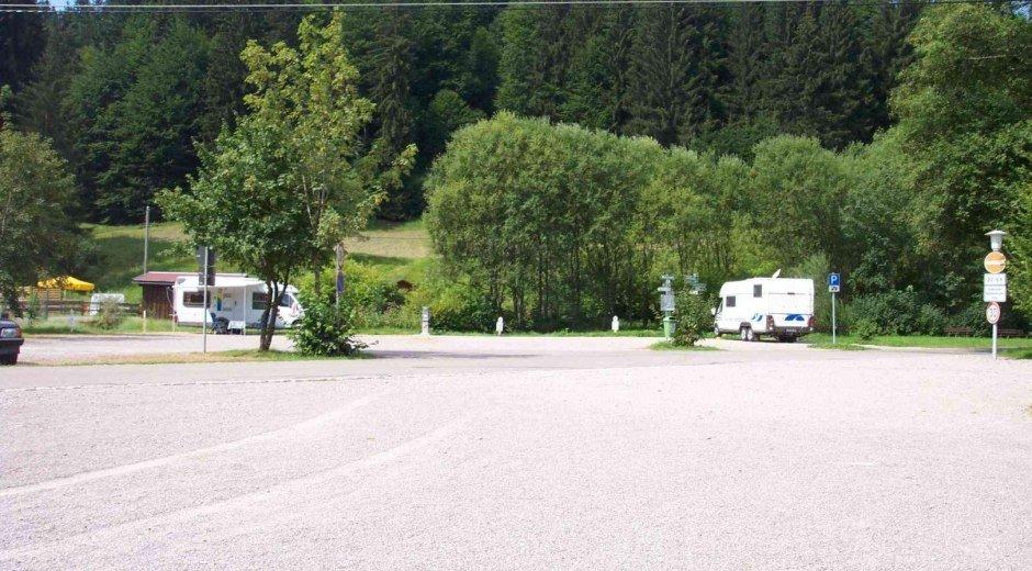 Camping mit dem Wohnmobil © Tourismus Hörnerdörfer