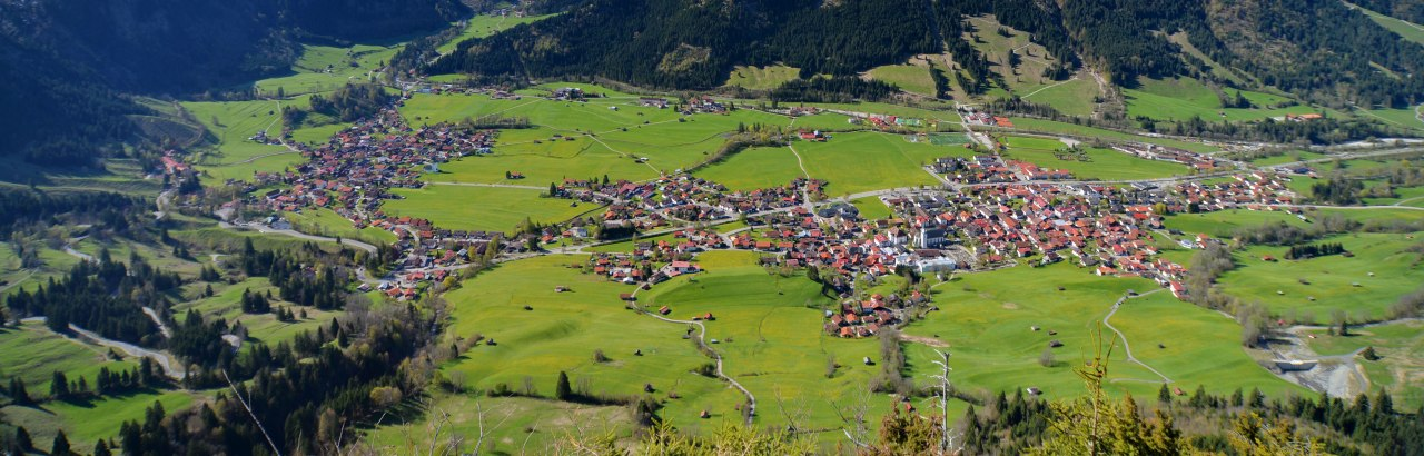 Blick auf Bad Hindelang © Bad Hindelang Tourismus