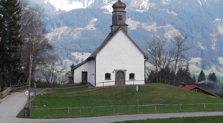 Die Kapelle in Untermühlegg © Tourismus Hörnerdörfer